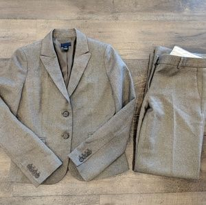 J. Crew 100% Wool Blazer and Pants Set